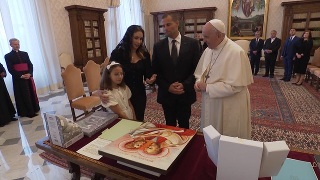 Prime Minister of Malta visits Pope Francis