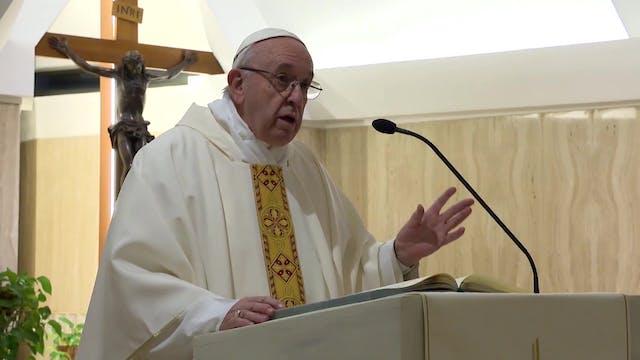 Papa en Santa Marta: Que los cristian...