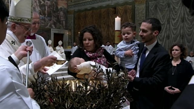 El Papa bautiza este domingo a niños ...