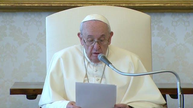 Francisco explica el Triduo Pascual d...