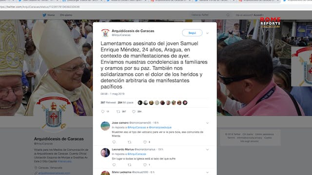 Venezuelan bishops call for an end to...