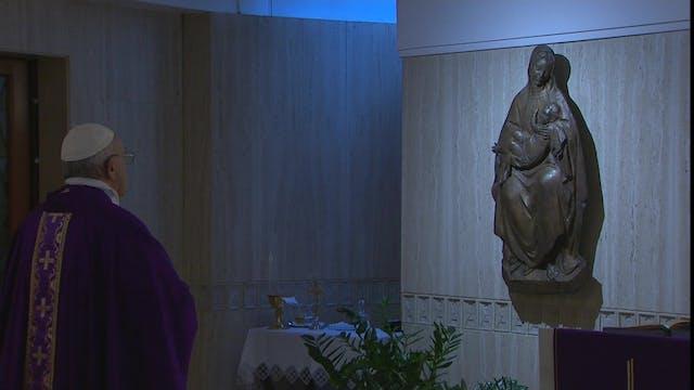Papa en Santa Marta: Cada uno de noso...