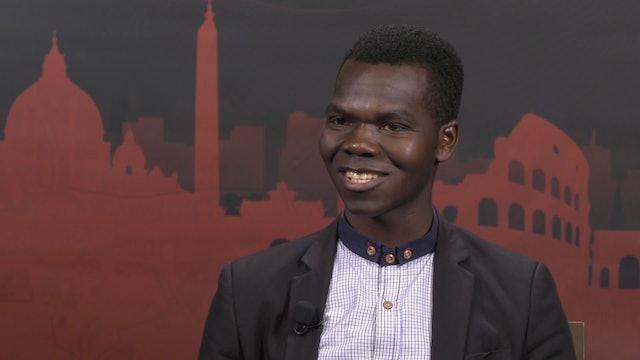De Sudán del Sur a Italia: seminarista del país más joven estudia en Roma