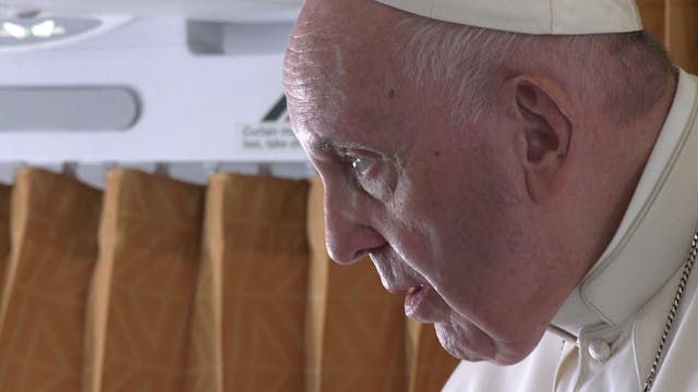 Pope Francis talks same-sex marriage,...