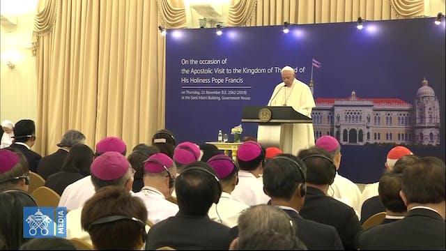 El Papa agradece a Tailandia sus esfu...