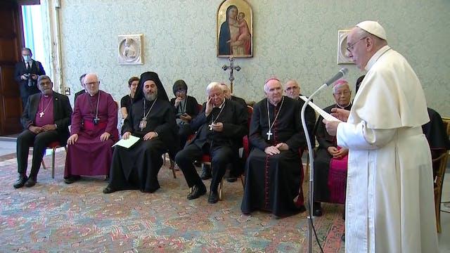 Pope to non-Catholic bishops: Unity i...