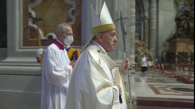 Francisco ofrece a obispos europeos c...