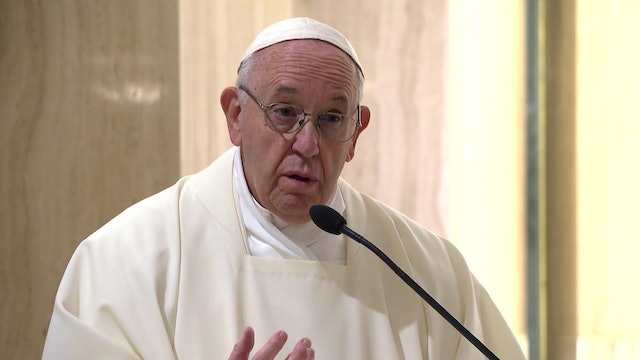 Pope in Santa Marta: The fainthearted don't have the courage to live
