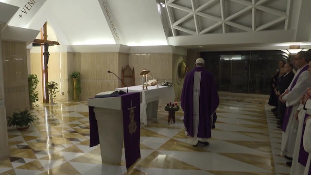 Pope Francis in Santa Marta: A Christian does not just speak but also acts