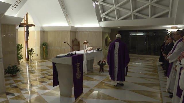 Pope Francis in Santa Marta: A Christ...