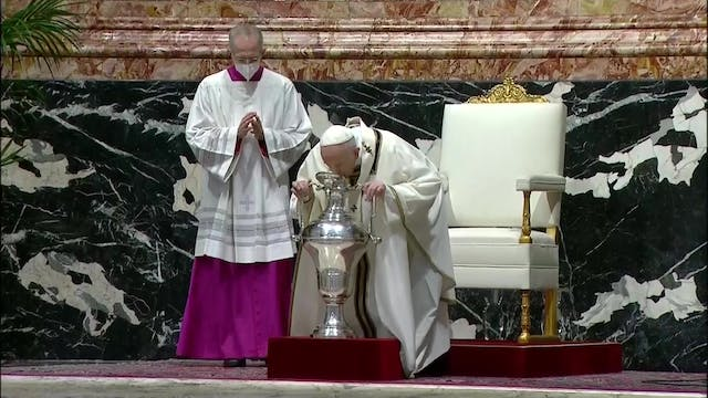 Pope Francis to priests: Jesus also h...