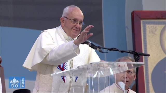 Papa a los jóvenes: Con su sensibilidad desmienten el discurso de la exclusión