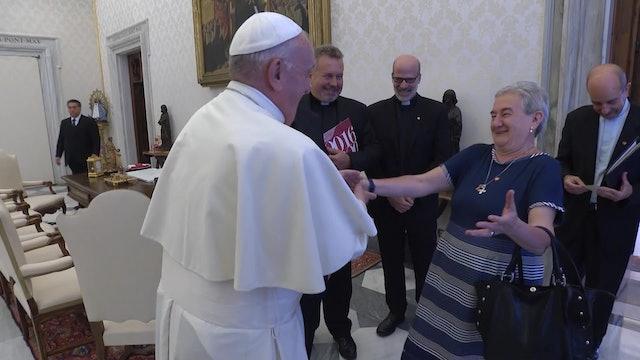 Maria Luisa Berzosa, una de las mujeres más escuchadas por el Papa