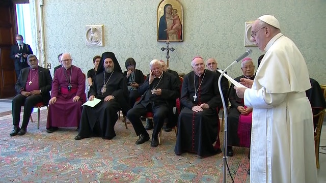 Papa se reúne con obispos no católicos: La unidad no es uniformidad. Es comunión