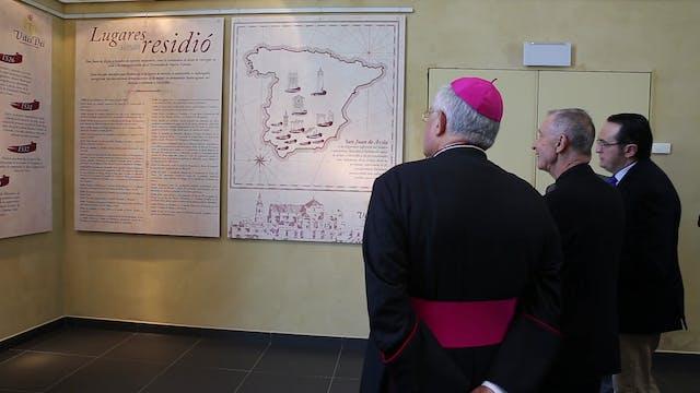 Cardinal Ladaria inaugurates the jubi...