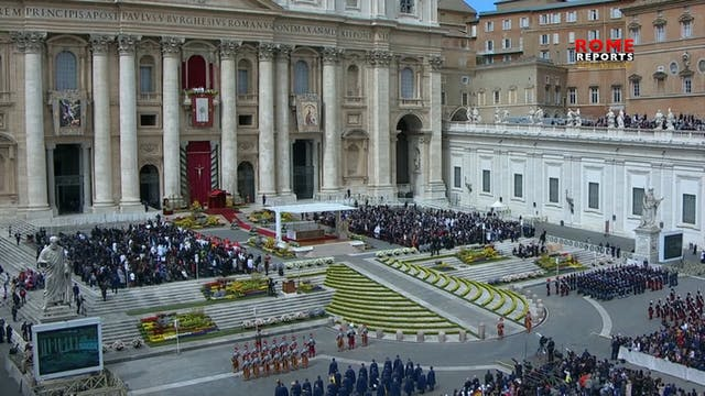 Vaticano adapta Semana Santa al Coron...