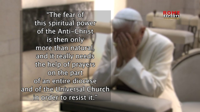 Benedict XVI regrets ideological dictatorship on abortion and gay marriage