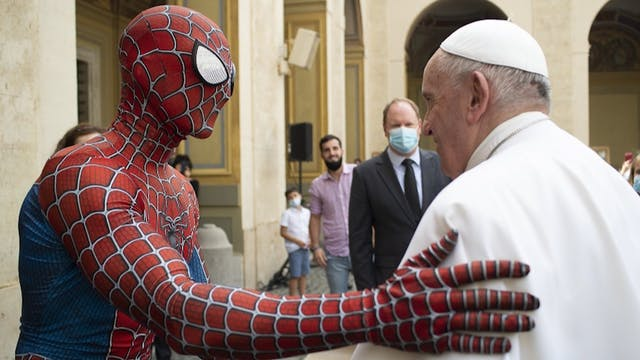 Under the mask: Spider-Man's meeting ...