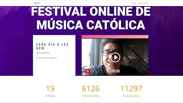 Virtual Catholic music festival organ...