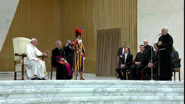Papa a trabajadores de cárcel romana:...