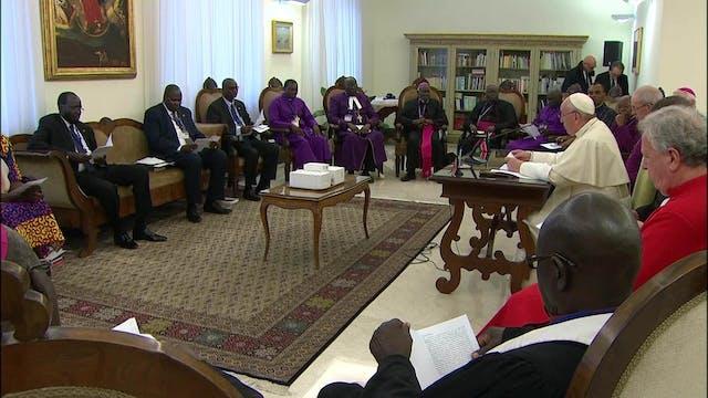 Los esfuerzos de la Iglesia por la pa...