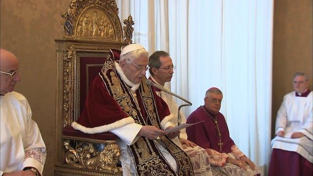 La decisión de Benedicto XVI que camb...