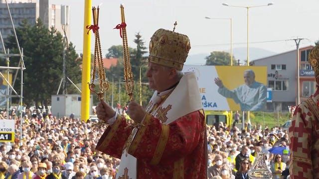 Archbishop of Prešov positive for Cov...