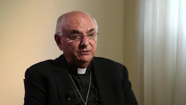 Tras 28 años en su diócesis, el obisp...