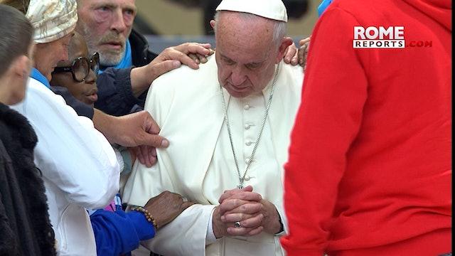Papa celebrará Jornada Mundial de los Pobres junto a 500 personas sin recursos
