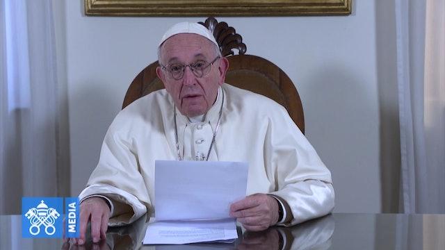 El Papa envía un mensaje a los jóvenes indígenas que preparan la JMJ de Panamá