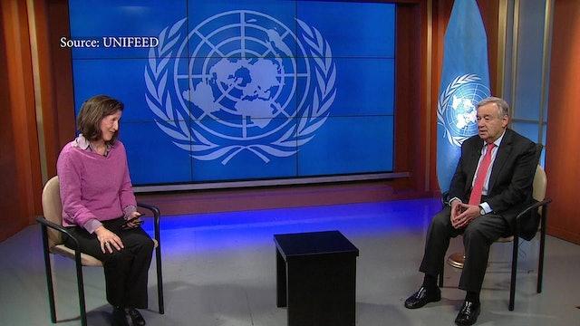 La resolución de la ONU sobre un alto el fuego global sostenida por el Papa