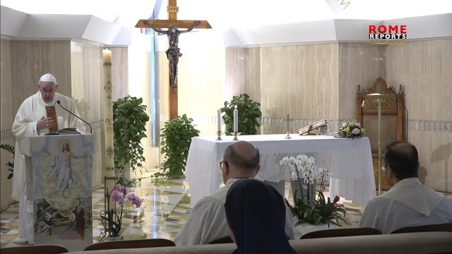 Pope: Holy Spirit's role is to teach,...