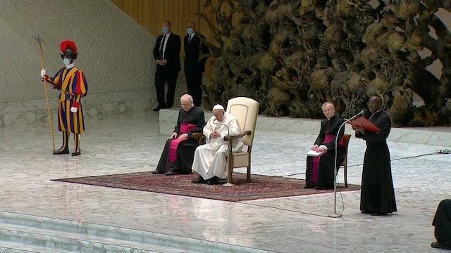 Francisco explica en la audiencia general la doctrina de la justificación