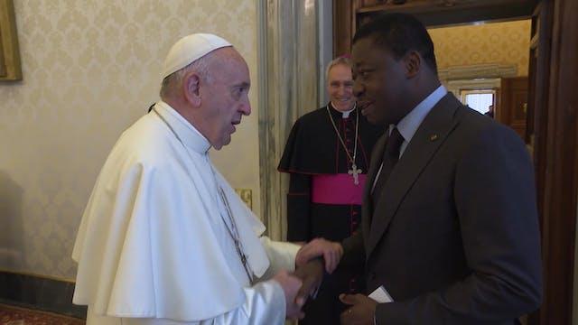 El Papa Francisco se reúne con el pre...