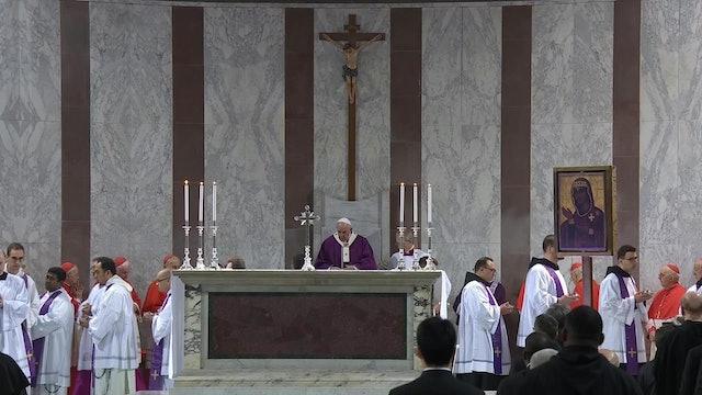 Papa cancela su agenda por segundo día consecutivo a causa de fuerte resfriado