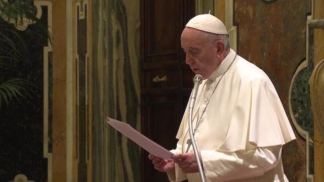 Francisco a la Papal Foundation: su generosidad ofrece un mensaje de esperanza