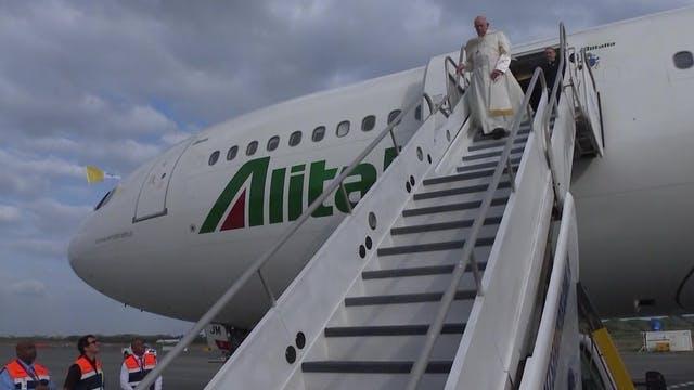 Papa comienza viaje a Asia. Abogará p...