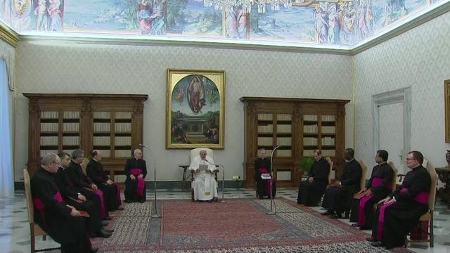 Pope Francis: Don't wait for a perfec...