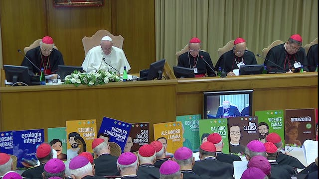 Pope to Synod: I was sad to hear comm...