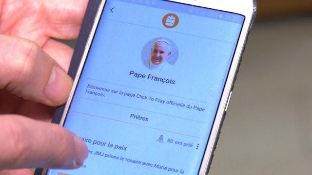 El Vaticano relanza una app para rezar con el Papa desde el celular