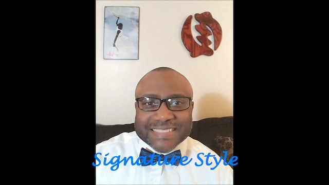 Signature Style Episode 3 - Personality and Style