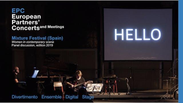 EPC - Mixture Festival (Spain), Woman...