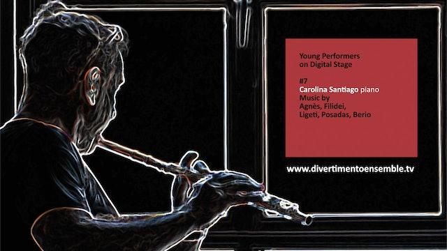#7 Carolina Santiago, piano