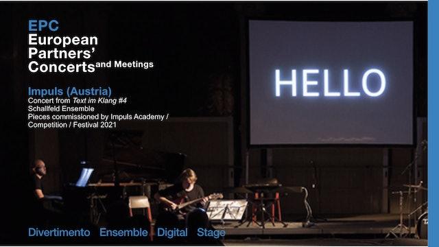 EPC - impuls, concert from Text im Klang #4