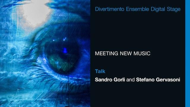 Sandro Gorli intervista Stefano Gervasoni (ita only)