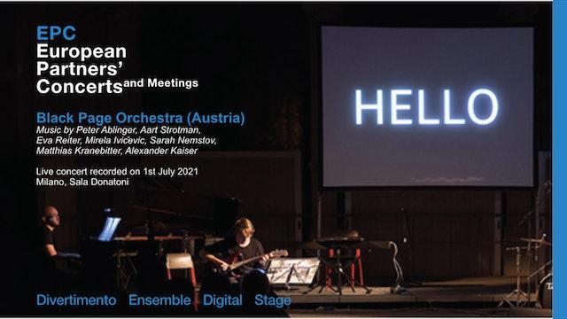 EPC European Partners' Concerts, Black Page Orchestra (Austria)