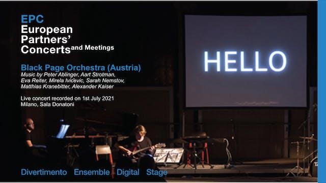 EPC European Partners' Concerts, Blac...