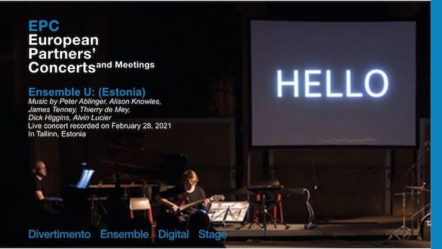 EPC - Ensemble U: (Estonia)