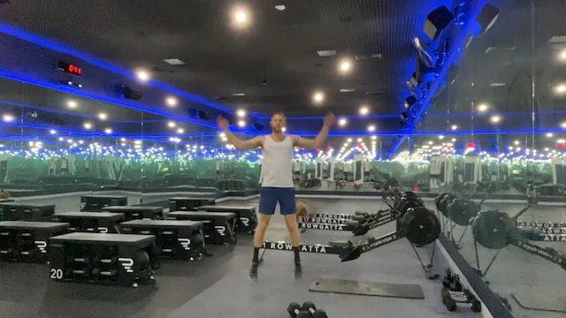 Weights (dumbbells) | Upper Body | Coach Nadav | 20 minute AMRAP