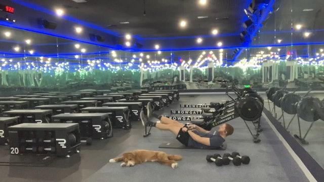 Weights (dumbbells) | Upper Body | Coach Nadav | 45 minutes